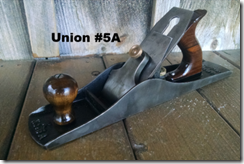 Union #X5A (same size as a Stanley #5 1/2)