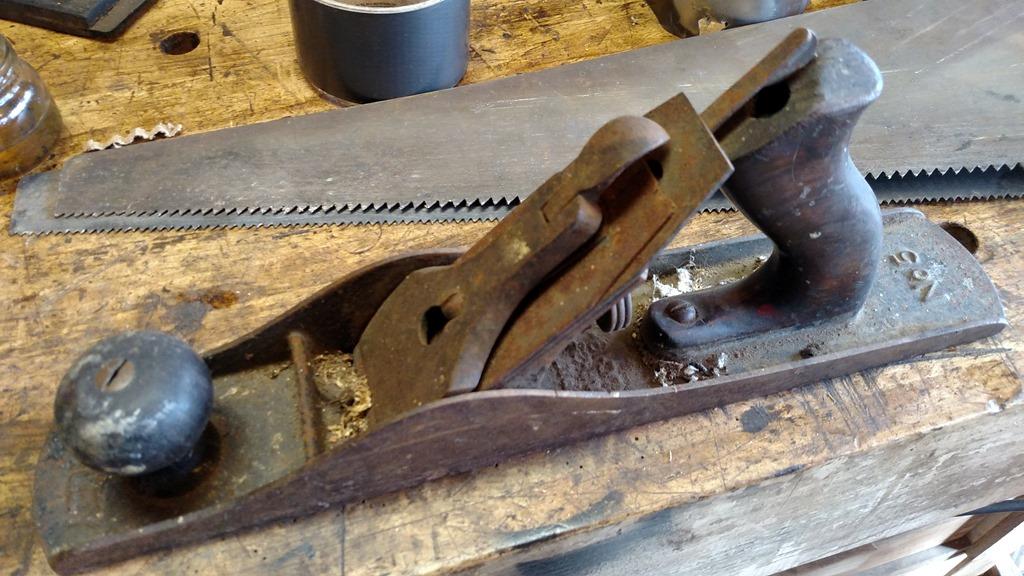 Hand Plane Restoration by the no soak method  | TimeTestedTools