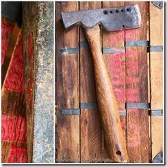 Plumb roofer's hatchet