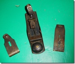 Old Antique Steers' Patent No. 304 Smooth Plane Tool, Brattleboro Tool Co-004