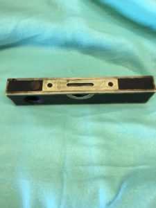 Vintage No. 10 Stratton Brothers Brass-Bound Rosewood Level 8