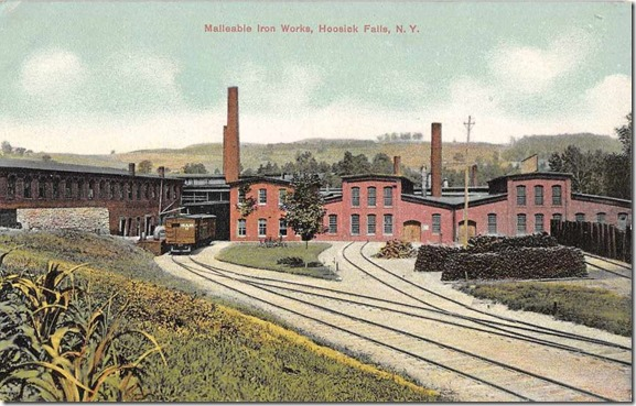 Hoosick Mallable iron post card
