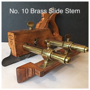 No. 10 Brass Slide Stem