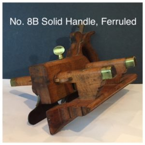 No. 8B Solid Handle, Ferruled