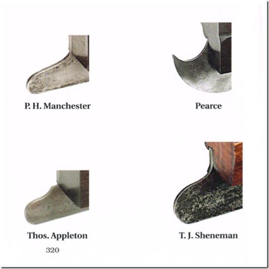 P.H. Manchester, Pearce, Thos. Applton, T.J Shenenman