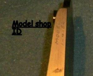 5 - Prototype ID closeup