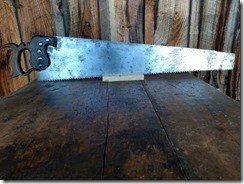 Cornell & Willis Hand Saw - 04